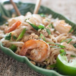 Quick and Easy Shrimp Pad Thai | What a Girl Eats