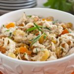 Chicken Salad with Apricots and Tarragon.