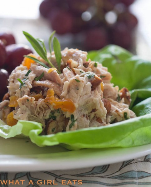Apricot, Almond And Tarragon Chicken Salad
