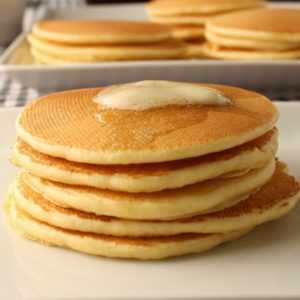 Buttermilk pancakes. @whatagirleats.com