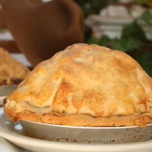 Riley's Farm five pound apple pie.
