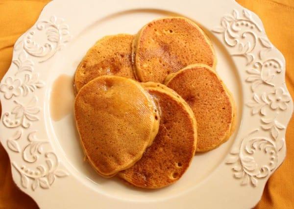 Pumpkin Spice Buttermilk Pancakes