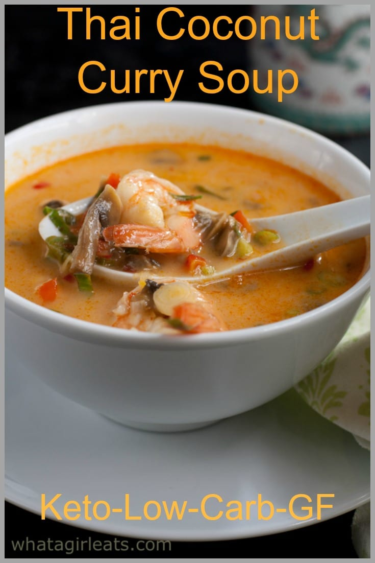 Thai curry soup pin