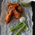 Spicy Buffalo Hot Chicken Wings
