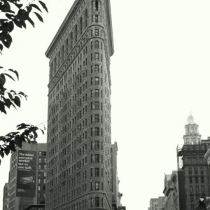 The Flat Iron Building, New York City.