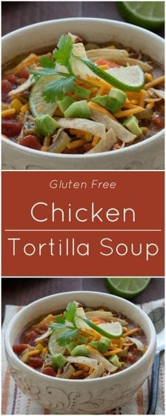 Chicken Tortilla Soup Gluten Free