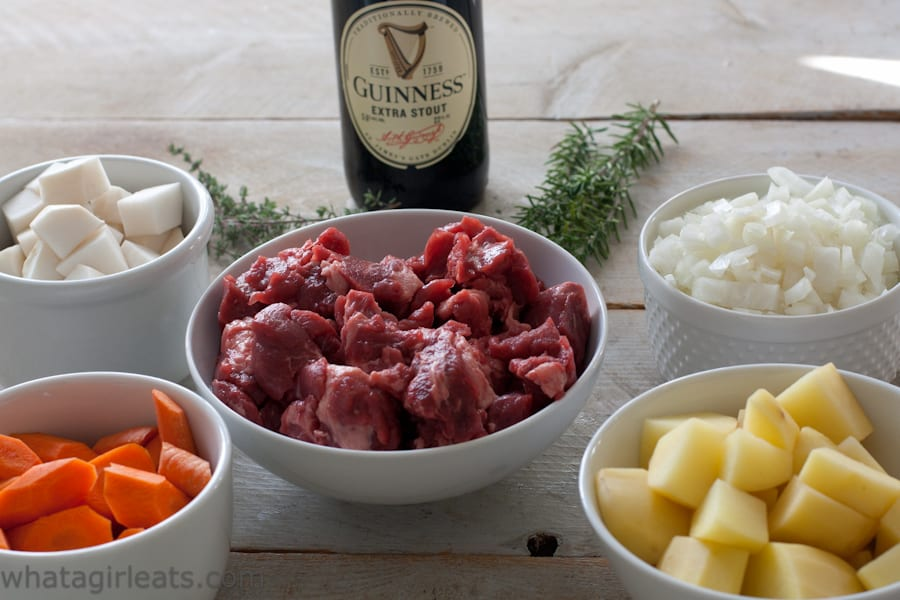 Guinness beef stew ingredients