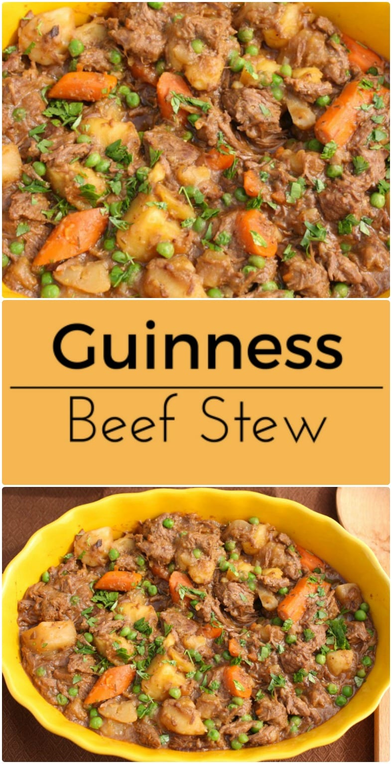 Hearty Guinness Beef Stew.