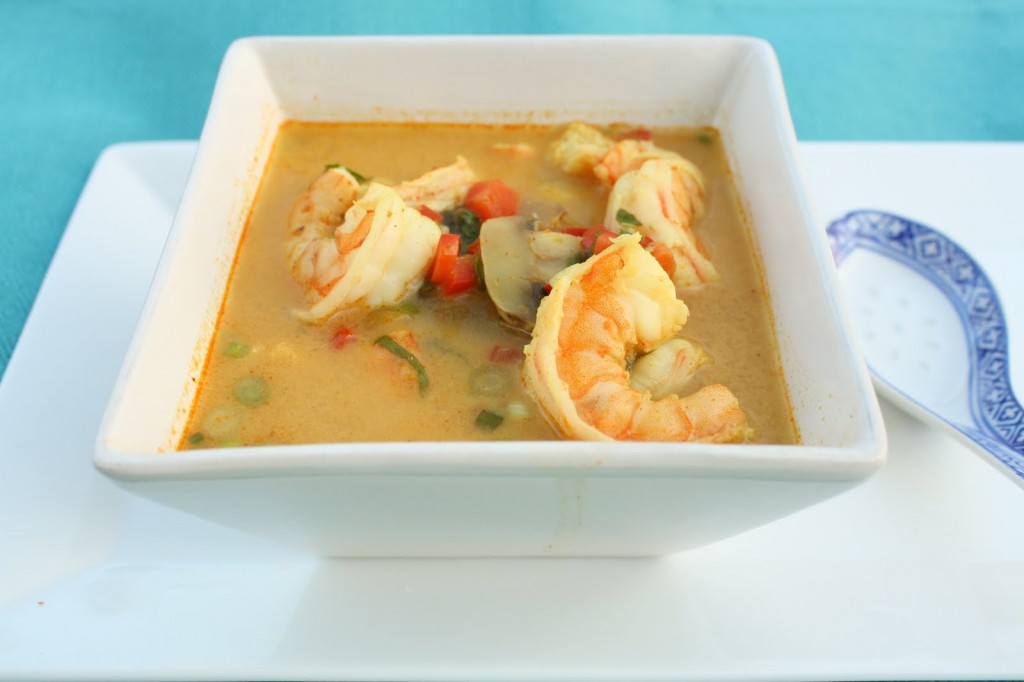 Thai Coconut Shrimp Soup