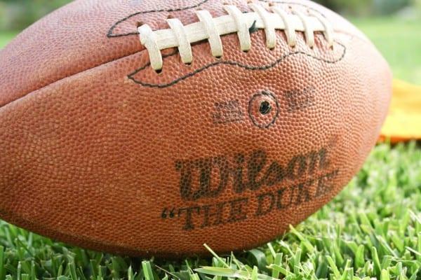 """Wilson, """"The Duke"""" football."""