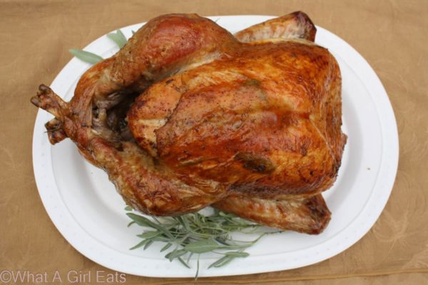 Mediterranean Style Thanksgiving Turkey