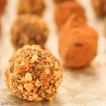 Chocolate Truffles and Caramel Apples {Holiday Gifts}