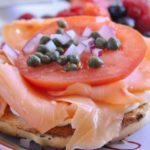 Lox and Bagels - an elegant breakfast that's perfect for holiday breakfasts and special celebrations.