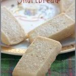 scottish shortbread on a tartan napkin