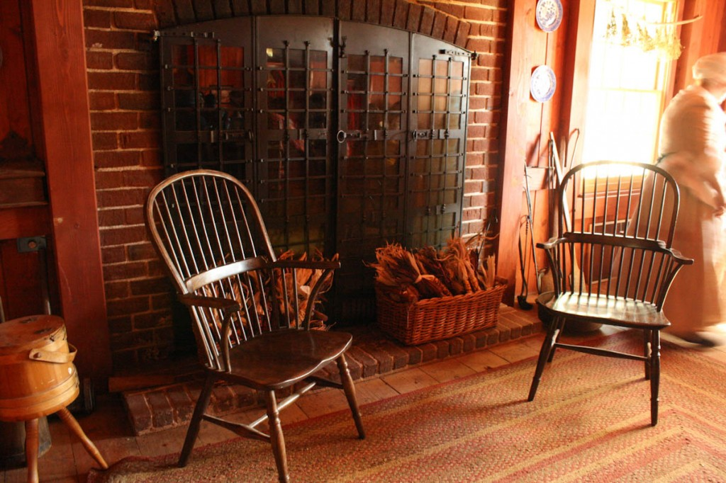 Tavern hearth, Riley's Farm.