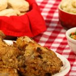 Oven Fried Chicken - a healthy twist on a southern comfort food classic! | What a Girl Eats