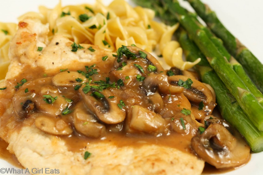 Chicken Marsala - What A Girl Eats