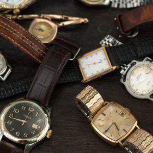 Vintage watches.