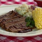 Aunt Donna's BBQ Beef Brisket