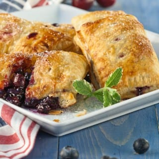 Triple Berry and Cherry Hand PIes.