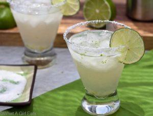 Classic 3-2-1 Margarita.