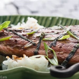 Mirin-glazed salmon is a fresh, healthy fish dinner, full of Asian flavors. This easy recipe uses just 5 ingredients and takes 10 minutes of time to make,