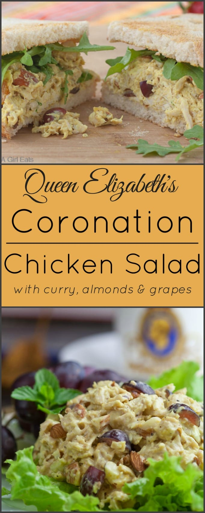 Coronation Chicken Salad - What A Girl Eats