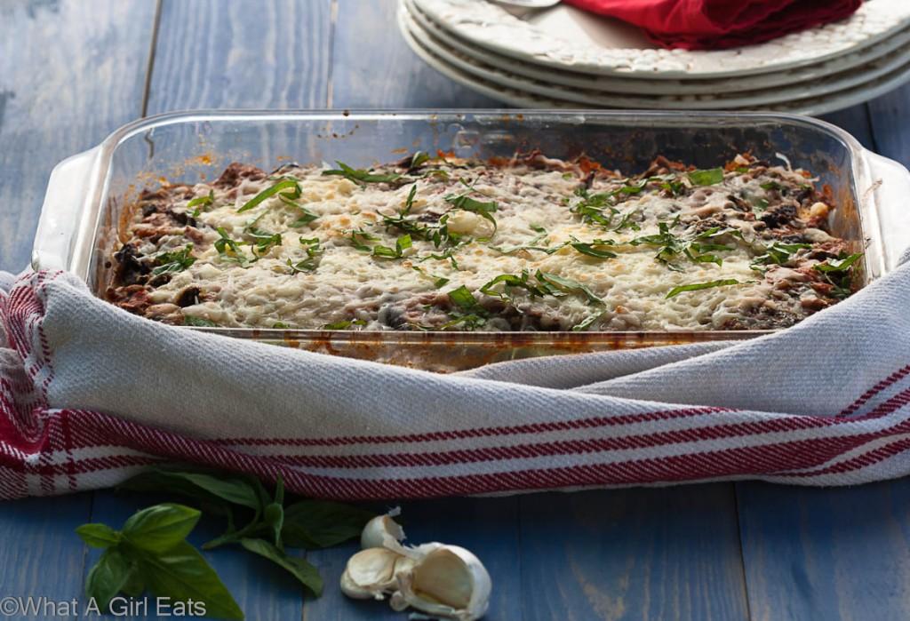Gluten free eggplant parmesan recipe