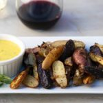 Roasted Fingerling Potatoes With Tarragon Aioli