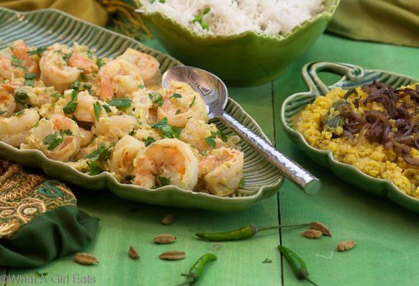 Creamy Shrimp Curry Korma \ What A Girl Eats