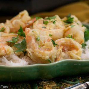 Creamy Shrimp Curry.