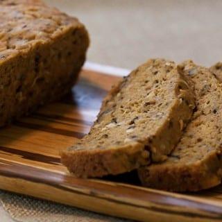 Gluten Free Pumpkin Coconut Bread