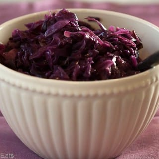 Braised Swedish Red Cabbage