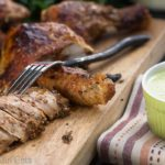 Peruvian Garlic-Lime Roasted Chicken