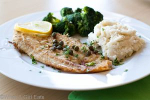Lemon-Caper Sole