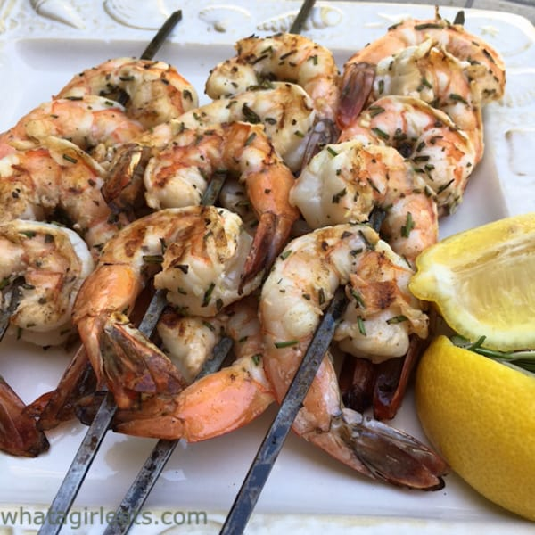 Rosemary Shrimp whole30