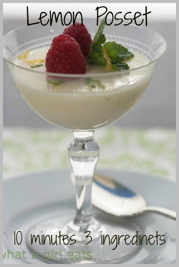 Lemon Posset pin