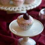 Almond Cupcakes With Cherry Almond Cream Cheese Frosting