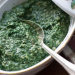"Lawry's ""famous"" creamed spinach."