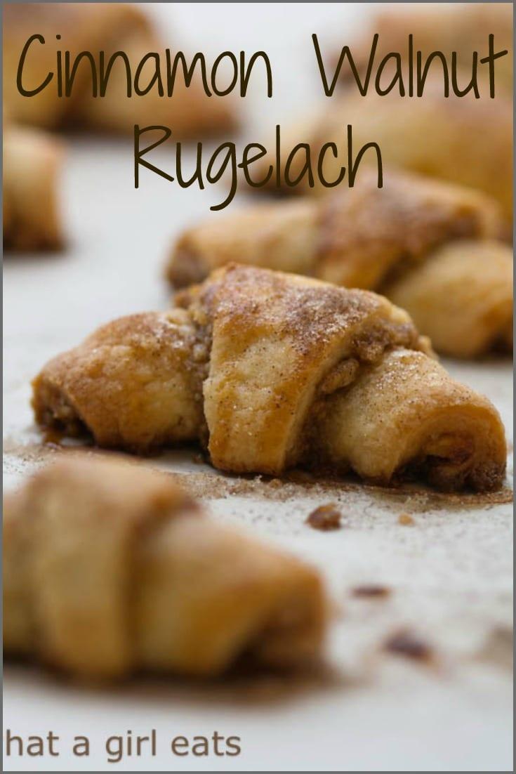 Cinnamon Walnut Rugelach