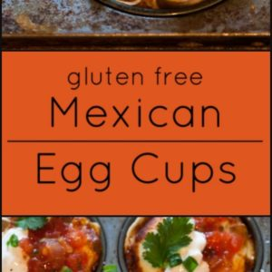 Mexican egg cups are gluten free and a great way to make eggs for a brunch!