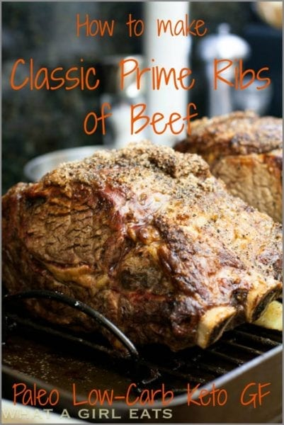 Prime ribs of beef
