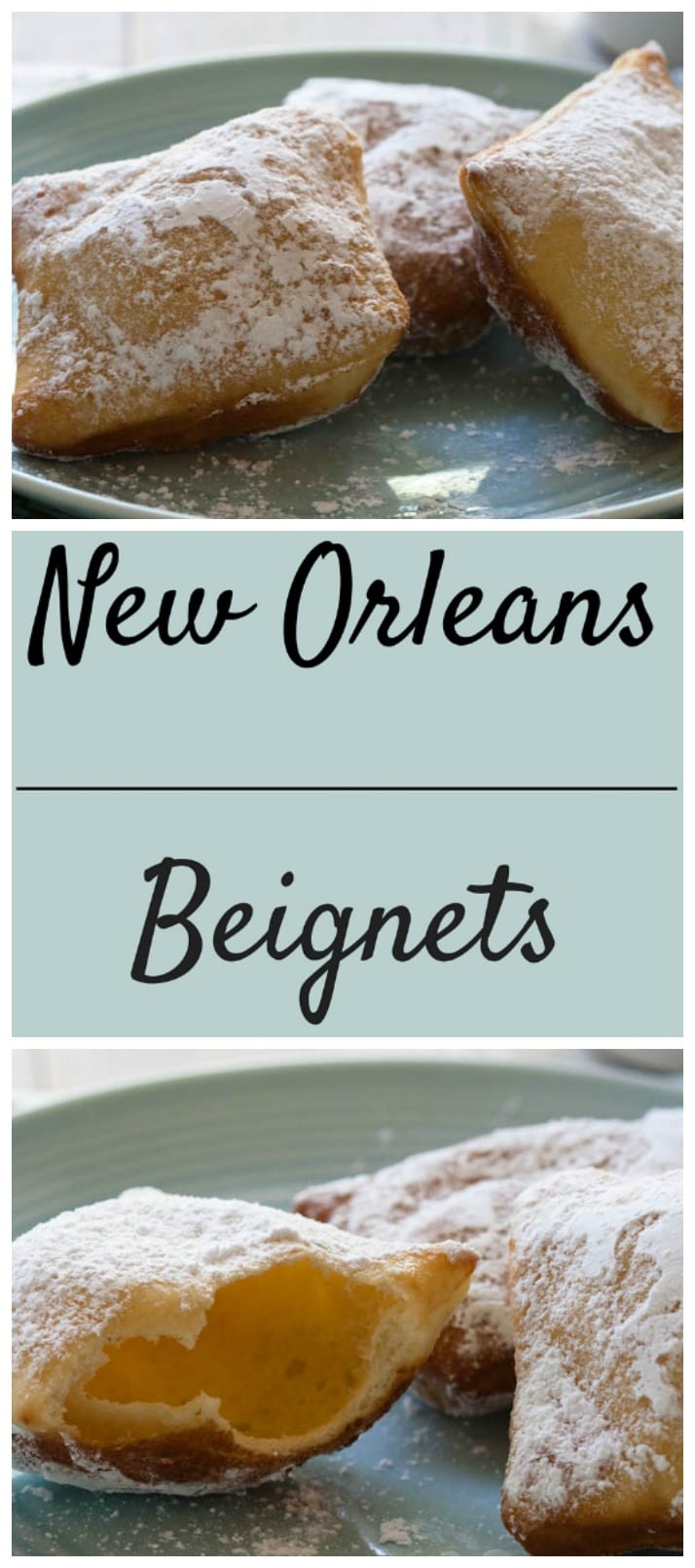 New Orleans Beignets, with step by step instructions.