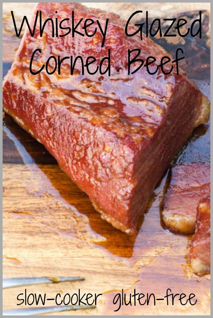 whiskey glazed corned beef