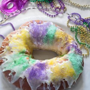 King Cake for Mardi Gras