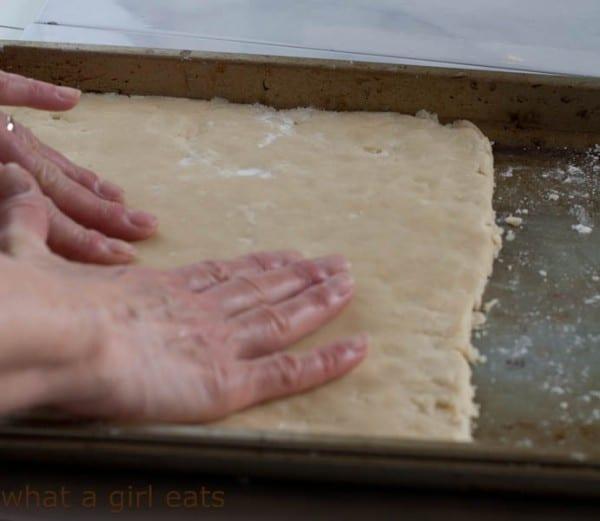 making classic shortbread