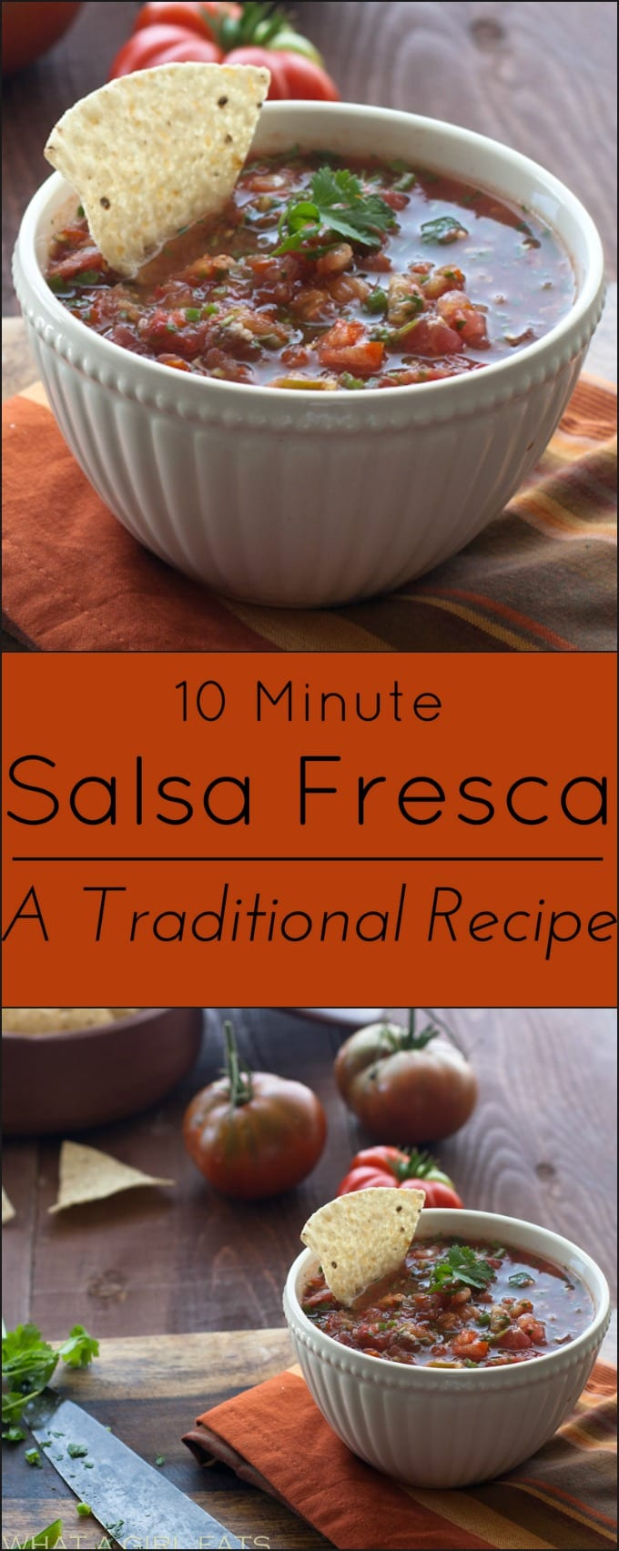 Fresh Salsa from an traditional Mexican recipe. Gluten free.