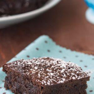 Chocolate mayonnaise snacking cake