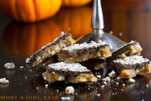 Pumpkin Spice Pecan Toffee
