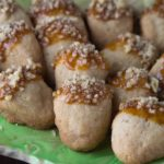 Brown Sugar Walnut Shortbread Acorn Cookies